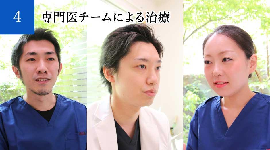 4:専門医チームによる治療